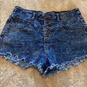 Size 8 refuge jean shorts